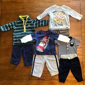 Carters Boy Outfit Bundle 3M